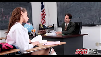 Girl fuck teacher - Skinny high school girl fucked by teacher in detention