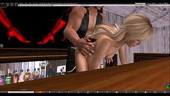 Biker Babe Gets Laid in Secondlife