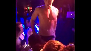 Gay dances at nightclub...