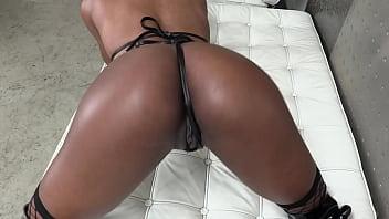 Tiny Fragile Black Slut Chanel Skye's Ass Impaled