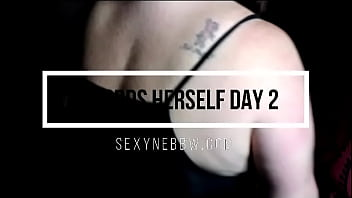 Sexy BBW Records Herself Playing Day Two – PREVIEW