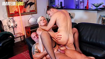 AMATEUR EURO - French Mature Candys Fills Her Insatiable Holes With Cocks
