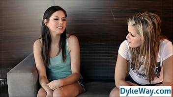 Straight Girl First Time Lesbian Sex In Vegas