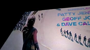 Desviei o caminho e levei o motorista GOSTOSO  de uber para assistir o filme da mulher maravilha no cinema olha no que deu