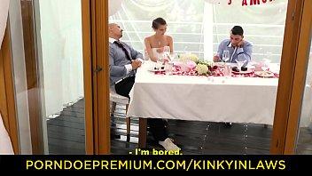 Kinky Inlaws - #cindy Shine - Beautiful Czech Babe Wedding Fuck With Stepbrother
