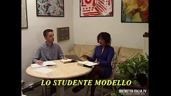 The model student buggers the repeat teacher