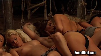 Enslaved Girls Penetrated By Mistresses Strapon