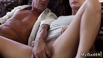 Skinny granny anal old and dad daddy father patron' crony's daughter thumbnail