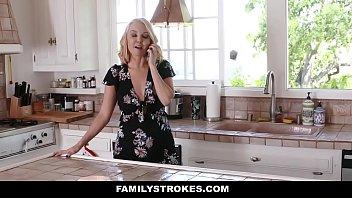 Familystrokes - Hot Stepmom (Aaliyah Love) Bails Stepson To Fuck