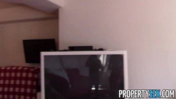 Propertysex - Good-Looking Blonde Real Estate Agent Hardcore Sex In Apartment