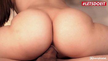 LETSDOEIT - Small Tits Jessica Portman Fucks Stranger While Husband Watches