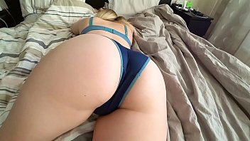 Teen pics panties white ass Sex of a young white girl with a big ass through panties