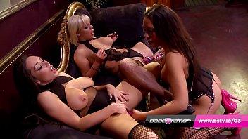 British lesbian threeway with Rio Lee, Denni Tayla & Loz