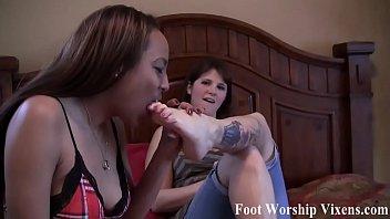 I let her suck my sweet little schoolgirl toes