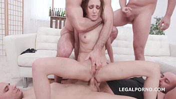 Drowned in Piss, Zoe Sparks 6on1 Manhandle, Balls Deep Anal and DAP, ButtRose, Gapes, Pee Drink and Swallow GIO1419
