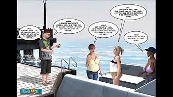 3D Comic: The Eyeland Project 16-18 18 min