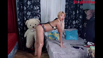 Sexy Asian Aira Cruz Dancing To Big Booty and Showing Pussy