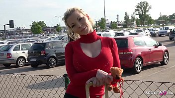 Image: GERMAN SCOUT - Big Boobs MILF Barbie Sins Talk To Fuck At Street Casting For Money