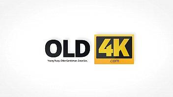 OLD4K. Lucky old gentleman enjoys elegant teen body to the full porno izle