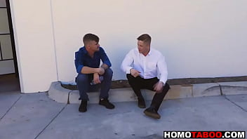 Gay cousins meet for the first time then fuck - fucked up family