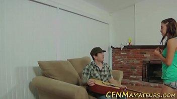 Cfnm Teen Gives Blowjob