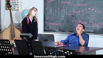 InnocentHigh- Cute Redhead (Dollie Leigh) fucks her teacher thumbnail