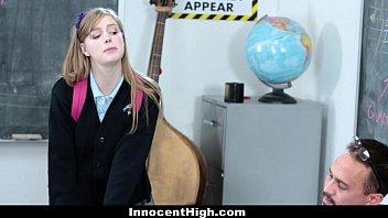 InnocentHigh- Cute Redhead (Dollie Leigh) fucks her teacher