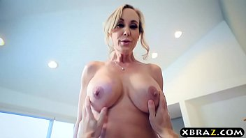 Mature stepmom shows young guy the way to use h...