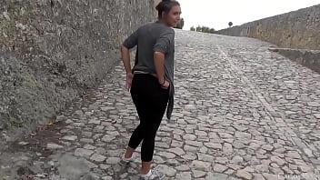 No Castelo de Palmela, Portugal