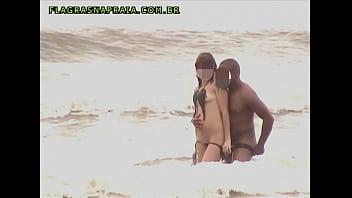 Vídeo Amador De Casal Sem Vergonha Fodendo Em Praia Brasileira