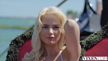 Vixen Stunning Lika Has Passionate Reunion With Boyfriend