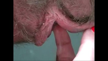 Dick between large labia - Creamy pussy wooowww