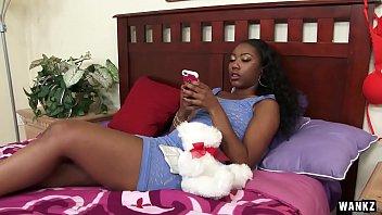 WANKZ- Two Black Babes Go Full Lesbian
