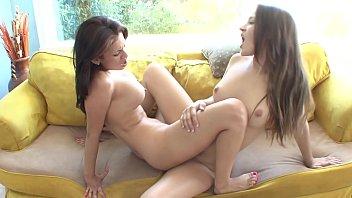 Hot lesbian beauties Dani Daniels and Vanessa V...