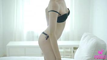 Short Haired Blonde Stella P Knows The Best Way To Make Herself Cum!