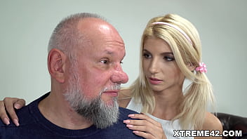 Old fart enjoys sexy young Missy Luv