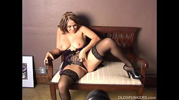 Lovely older latina chats and shows off her super sexy body