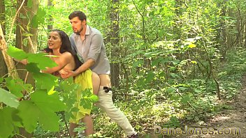 Sundress tits - Dane jones blowjob and outdoor sex in a summer dress and kitchen quickie