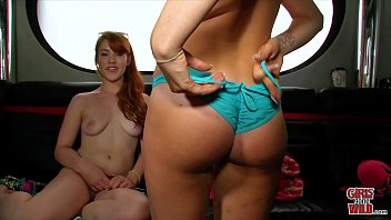 Redheads wild - Girls gone wild - beautiful young lesbians getting crazy in front of our camera