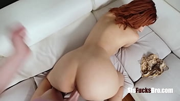 Bored Stepsister Asks Brother To Fuck Her- Keely Rose