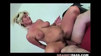 Real elderly women having sex Bouncing granny tits