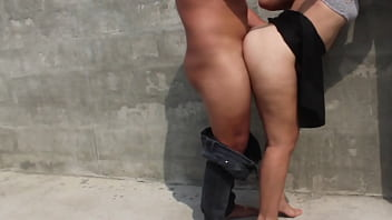 I fuck hot student in vacant lot the neighbors almost discover us