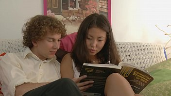 Young asian teens fucked Young couple studying and fucking