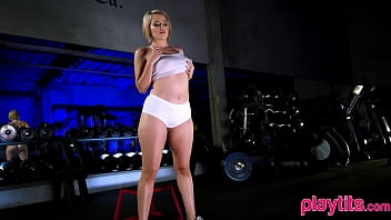 Bare teen babe fitness is the best possible fitness