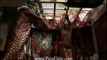 Harem Battle - Breast and pussy whipping for harem slavegirls - whose pain will please the master more?