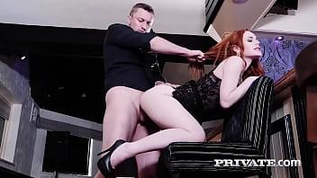 Private.com - All Natural European Redhead Ella Hughes Super Drilled!
