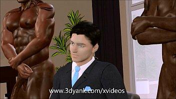 Rich 3D bitch cuckolds her husband from 3DYank