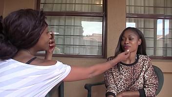 Passionate Lesbian Ebony Amateur Sex