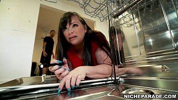 NICHE PARADE - Licking My BBW Step Mom Marcy Diamond's Fat Big Ass!