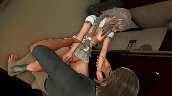 漂亮的青少年女孩无尽在短*在一个热xxx无尽游戏视频中与一个老男人做爱